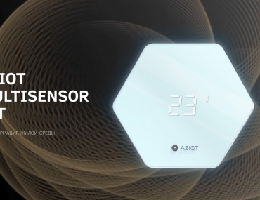 Multisensor AZIOT is the quality control of the air in your home!